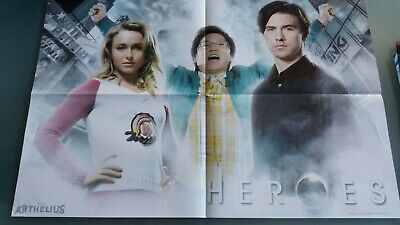 poster 4 pages  charmed ou heroes