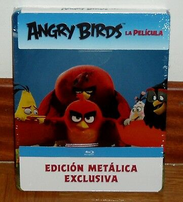 Angry Birds the Pelicua Blu-Ray Steelbook New Sealed Animation (Unopened)