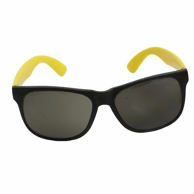 Rhode Island Novelty Neon 80's Style Party Sunglasses with Dark Lens 12 Pack