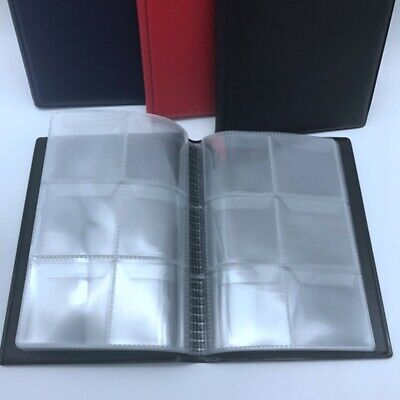 60x Collectors Coin Penny Money Storage Album Book Holder Case Collection New UK