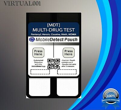Multi-Drug Residue Pouch Drug Testing Device
