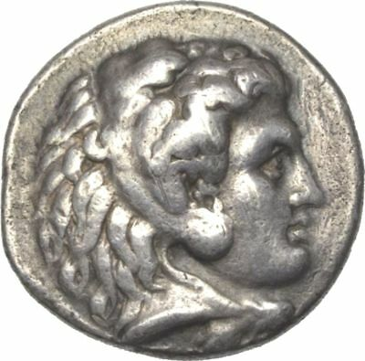 "BABYLON RARE AR TETRADRACHM  ALEXANDER III ""The Great"" 336-323 BC with EXPERTISE"