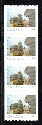 2019 Canada SC# From Far and Wide - strip of 4 coil stamps - M-NH C11