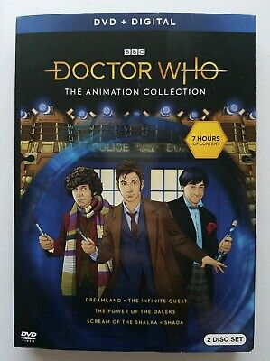 Doctor Who: Animated Collection DVD + DIGITAL
