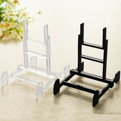 Art Crafts Photo Picture Frame Book Holder Display Stand Plastic Easel Plate