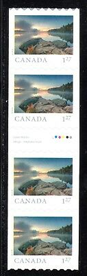 2019 Canada SC# From Far and Wide - Gutter strip of 4 coil stamps - M-NH C8
