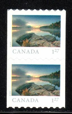 2019 Canada SC# From Far and Wide - One Pair coil stamps - M-NH C6