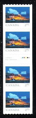 2019 Canada SC# From Far and Wide - gutter strip of 4 coil stamps - M-NH C17