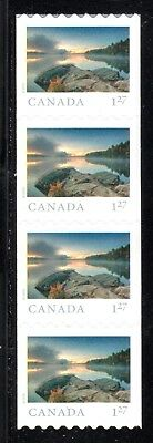 2019 Canada SC# From Far and Wide - strip of 4 coil stamps - M-NH C7