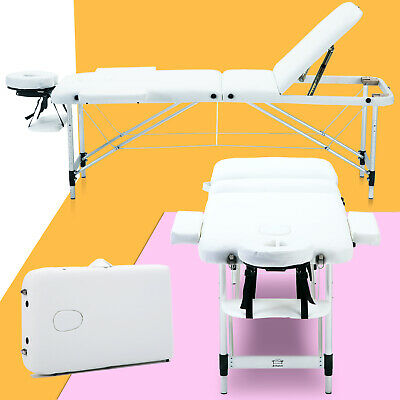 Lightweight Portable Folding Massage Table Tattoo Beauty Salon Therapy Couch Bed