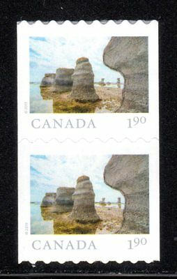 2019 Canada SC# From Far and Wide - One Pair coil stamps - M-NH C10