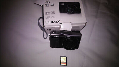 Panasonic DMC-TZ80 LUMIX 18.1MP Digital Camera - Black