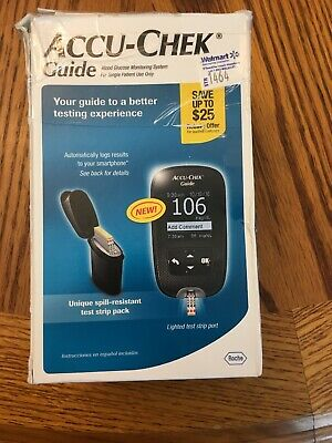 Accu-Chek Guide Blood Glucose Monitoring System Factory Sealed