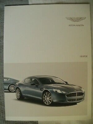 Aston Martin Rapide Brochure and road tests 2010