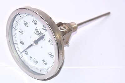NEW, Palmer, Part: 5BE6, All Star, Bimetal, Pressure Gauge, Palmer Instruments I