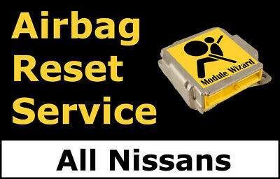 For Nissan Airbag Module Reset Service, Control Unit, Computer, SRS, RCM,