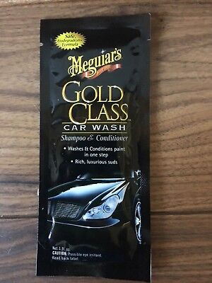 Meguiars Gold class  shampooing +conditioner  unidose