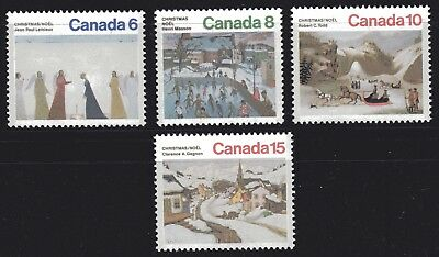 1974 Canada SC# 650-653 - Christmas - 4 Stamps Lot# 71 M-NH