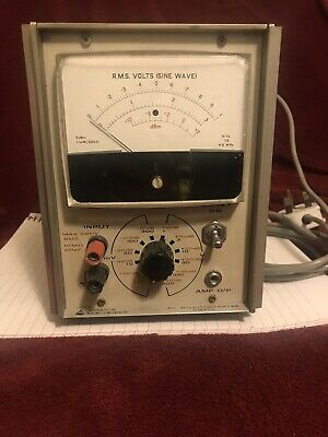 Advance Electronics VM77D AC Millivoltmeter - 15Hz - 4.5MHz - *Working*