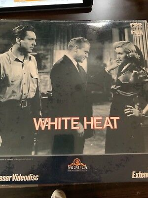 NEW SEALED!! WHITE HEAT EXTENDED PLAY LASERDISC James Cagney