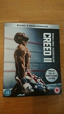 Creed 2 (Blu-ray)With Digital Download / Boxed With Slip Case.