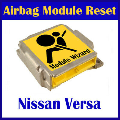 For Nissan Versa Airbag Module Reset Service, Control Unit, Computer, SRS, RCM,