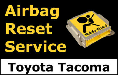 Toyota Tacoma: Airbag Module Reset Service, Control Unit, Computer, SRS, RCM,