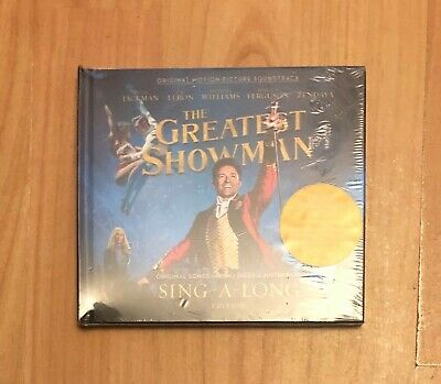The Greatest Showman Soundtrack Sing-A-Long Edition 2 Cd Latest New & Sealed