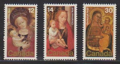 1978 Canada SC# 773-775 - Christmas-Paintings Lot# 100 M-NH