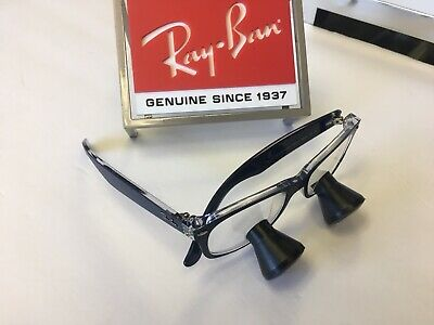 Ray-Ban 2.5X Loupes - Custom to you - Surgical Surgitel Orascoptic  wire clips