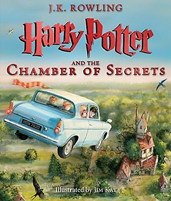 Harry Potter and the Chamber of Secrets Illustrated HC Hard Cover New Not Sealed