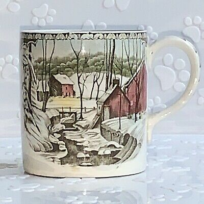 Johnson Bros Friendly Village Ice House Replacement Tea Coffee Cup Mug England