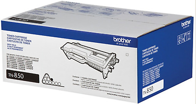 Brother Tn850 Genuine High Yield Notary Black Toner Cartridge