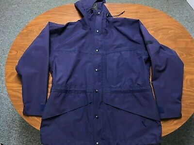 Mens Vintage 90'S Used The North Face Purple Gore Tex Mountain Jacket Large