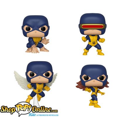 PRE-ORDER Funko Pop! Marvel: 80th - First Appearance - X-Men Bundle