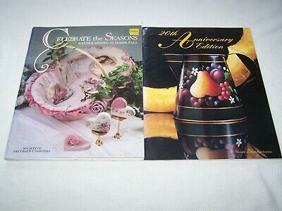 Lot of 2 Society of Decorative Painters TOLE PAINTING Patterns Seasonal