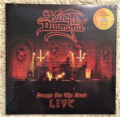King Diamond - Songs For The Dead (Orange Red Marbled 2-LP / Only 300 Worldwide)