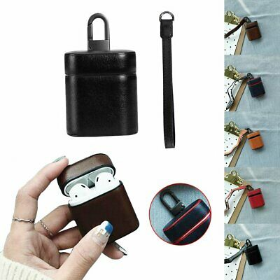 Earphone Luxury Leather Case Cover Protective Skin for Apple Airpod Charging  TR