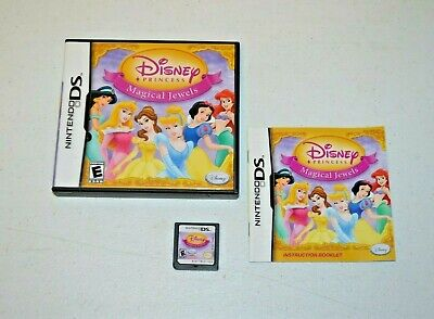 Disney Princess: Magical Jewels (Nintendo DS, 2007) TESTED COMPLETE NDS
