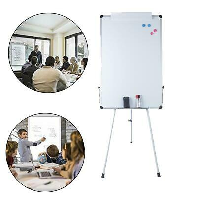 "36""x24"" Magnetic Dry Erase Easel White Board Tripod Stand Display Kids Teaching"