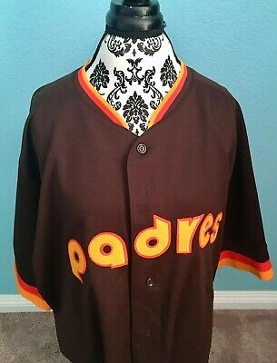 c44ac3d9 San Diego Padres Cooperstown Collection Retro Jersey 3XL Men's Majestic MLB