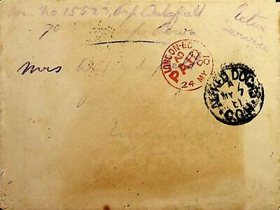 Africa Cape Of Good Hope Oas 1901 Cover To England