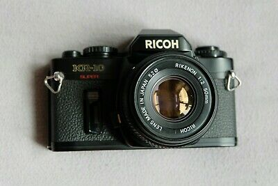 Ricoh KR10 Super - Classic 35mm Film SLR with Ricoh 50mm f2 lens.