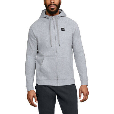 bc3292f3 MEN'S UNDER ARMOUR ColdGear Rival Fleece Fitted Full Zip Hoodie NWT ...