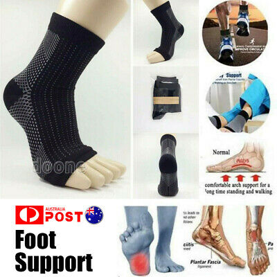 AU Original Quality Vita-Wear Copper Infused Magnetic Foot Support Compression