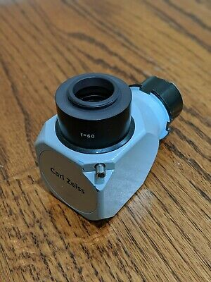 Carl Zeiss f60 f=60 Camera Adapter for OPMI Surgical Microscope