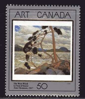 1990 Canada SC# 1271 Masterpieces of Canadian Art-3 Lot 984a M-NH