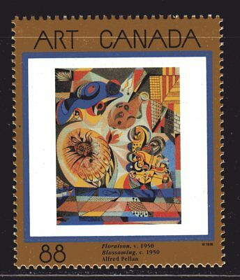 1995 Canada SC# 1545 Masterpieces of Canadian Art-8 Lot 989a M-NH