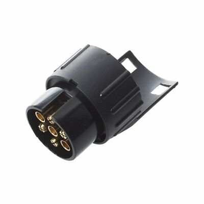 7 To 13 Pin Adapter Trailer 12V Caravan Towing Converter N Type Plastic X8D4