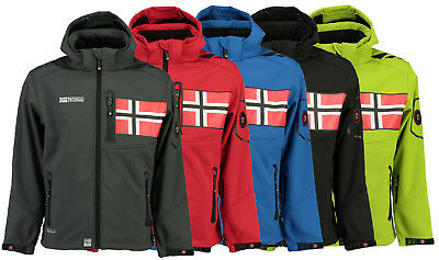 Geographical Norway Tambour Softshell Jacket for Men
